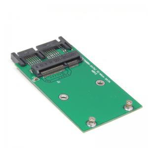 China Mini disque transistorisé du mSATA 3x5cm de PCI-e de PCIe à 1,8 adaptateur micro de carte de convertisseur de SATA pour libre de courrier de PS on sale
