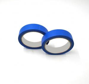 China 3m Blue Masking Tape Low Noise Nature Rubber UV Resistant Feature on sale