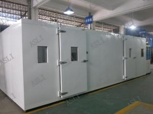 China Customized Walk In Stability Chamber , Environmental Climatic Temperature Humidity Volume Control Room on sale
