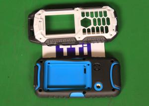China Hot runner 2 cavities Phone Covers Over Molding PC + TPU Material on sale