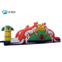 China Indoor Outdoor Playground Inflatable Slide Kangaroo Pvc Tarpaulin For Kids on sale