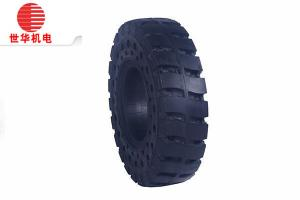 China 15x4.5-8 Solid Forklift Tyres Longer Life Cycle Advanced technology on sale