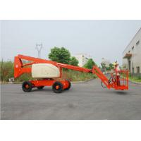 China Telescopic / Articulating Type Mobile Aerial Platform , Outdoor Aerial Working Man Lift for Rent on sale