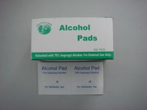 China Alcohol Pad on sale