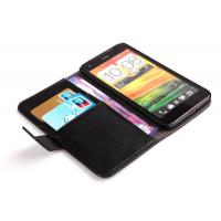 China Luxury Black HTC Protective Case With Stand , HTC Butterfly X920 Phone Covers on sale