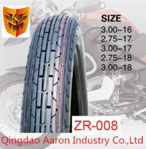 China 2015 hot sale motorcycle tyre 2.50-17, 2.75-17 , 3.00-17 6PR 35%-45% rubber content on sale