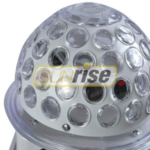 Quality Mini Led Rgb Crystal Magic Ball Effect Light 6x3W With 5 Color Circular Motion for sale