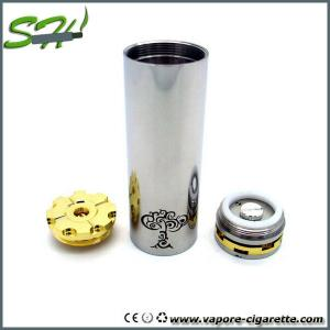 China 900mah Silver 26650 Mechanical Mod stainless steel with eGo thread on sale