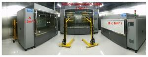 China Environmental chamber method for automotive evaluation, automotive VOC odor evaluation system on sale