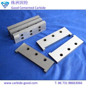 China High impact superior finish tungsten carbide scraper blade from Zhuzhou on sale