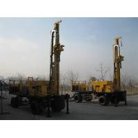 China Hydraulic Waterwell Drilling Rig 160 Kw Ф108 mm With 6 m Drill Rod on sale