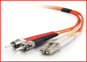 China Multimode 2.0mm SC LC Fiber Patch Cord  MM OM2 62.5/125um OFNR Cable on sale
