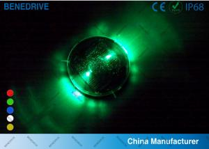 China 1 LED Each Side 2 Directions Solar Road Markers Well Fit Road Surface Energy Efficiency on sale