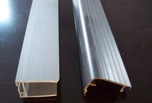 China Custom Plastic Extrusion Profiles , Furniture Compound PVC Extruded Profiles on sale