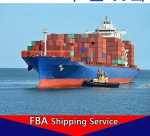 China CN - USA Amazon FBA Forwarder , DDP DDU Sea Freight Shipping Services on sale