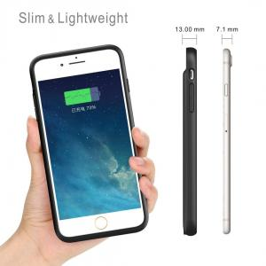 China iPhone 8/7/6/6S Battery Case 3000mAh Lingthing Earphone Supported Ultra Slim  Charging Case Charger Audio/Data Sync on sale