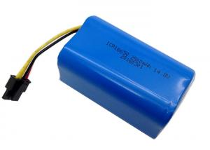 China High Capacity Lithium Ion Battery Pack , 4S Smart Li Ion Battery Pack 14.8V 2500mAh on sale