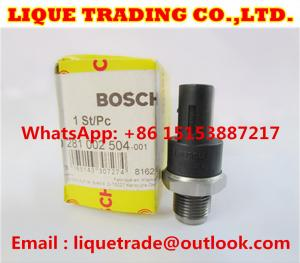 China BOSCH original FUEL PRESSURE SENSOR 0281002504 , 0 281 002 504 , 0 281 002 691, 0281002691 on sale