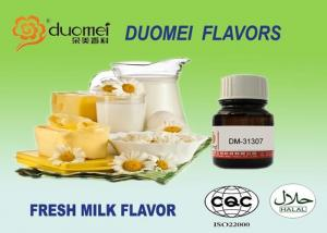 China 100% Pure Strong Concentrate Fresh Milk Flavor Yellow To Light Yellow on sale