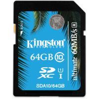Kingston 64GB SDXC Card Ultimate 233X Class 10 UHS-1 Price $30.6