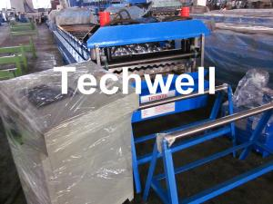 China Corrugated Sheet Metal Roof Corrugation Machine, Corrugated Roof Sheet Roll Former wholesale