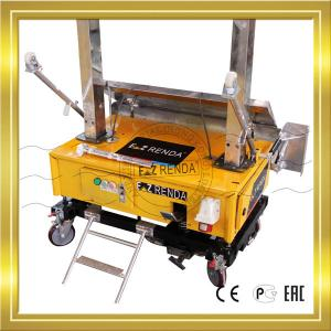 China Three Phase Wall Plastering Machine For Internal Wall Single Phase 220V on sale