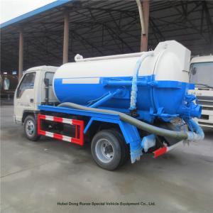 Forland 5 CBM Septic Vacuum Trucks / Sewage Waste Truck For