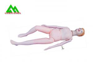 China Advanced PVCMedical Teaching Models Nursing Patient Care Manikin Full Body on sale