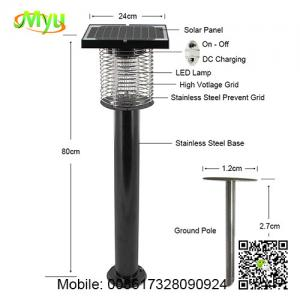 China Solar Powered Pest Control China Insect Killer Bug Killers Manufacturers on sale