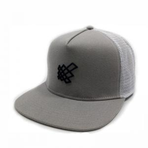 Quality 5 Panel Flat Brim Cotton Snapbacks Mesh Back Hats Custom Embroidery  for sale ... 4185c8d2b412