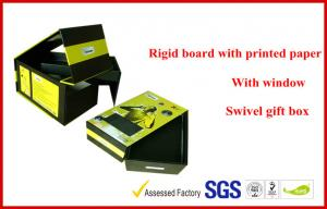 China Two Layers / Swivel Rigid Board Gift Packaging Boxes , Custom Colorful Printed Packaging Boxes on sale