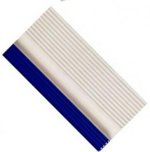 Blue / Brown / White / Black Edge Tiles Ceramic For Swimming ...