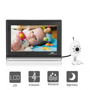 China Monitor Guardian - Wireless Night Vision Baby Monitor with 7 Inch LCD Widescreen on sale