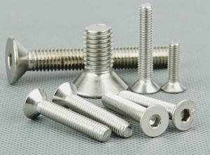 China stainless steel hexagonal flat head screw 201 304 grade on sale