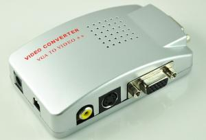 China VGA To AV/PC to TV Video/S-Video Converter Suitable for Both PC and Desktop on sale