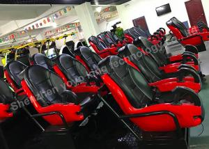 China 7D Cinema Theater  Truck Mobile Cinema Equipment Simulator  9 / 12 Seat on sale