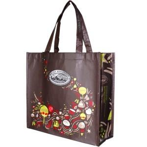 China RPET Shopping Bags, Anti-counterfeiting Finishes Gift Bag With Customized LOGO on sale