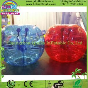 China Inflatable Bubble Soccer Bumper Football Zorb Ball on sale