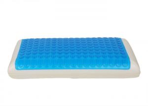 China Health Cushion Gel Memory Foam Pillow for Relieving Snoring Insomnia Migraine TMJ on sale