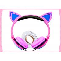 high quality and cheap price Noise cancelling headphone kids hot cat ear headset fashion cat headphones L107