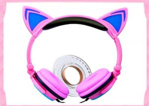 China high quality and cheap price Noise cancelling headphone kids hot cat ear headset fashion cat headphones L107 on sale