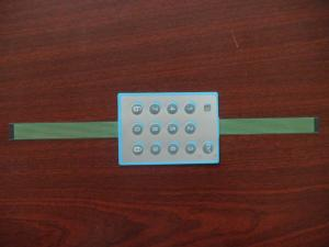 China Panel Control Polyester Flexible Membrane Switch With FPC Circuit / Membrane Key Switch on sale