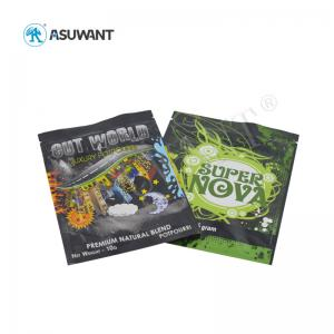 China 35 Grams Moisture Proof VMPE Lockable Medicine Bag on sale