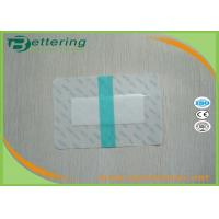 Medical Sterile permeamble transparent waterproof PU film IV wound dressing with absorbent pad economic non frame type
