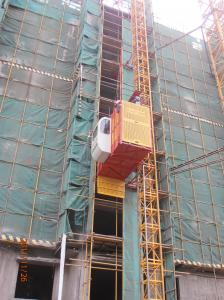 China Vertical handling Construction Lifting Equipment / Builder Hoist for Material, Cargo SS100 on sale