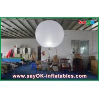 Customized Nylon Cloth White Inflatable Lighting Decoration For Party