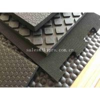Interlocking 16mm Cubicle Cow Mattress Nylon Cloth Insertion Non-slip Mat Stall Rubber Floor Mats
