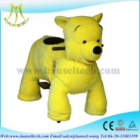 Hansel Coin Operated Plush Animal Scooters Guangdong Stuffed Toys Riding Animals