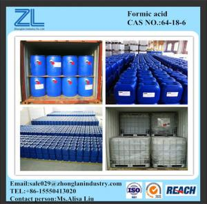 China Formic acid With MSDS on sale