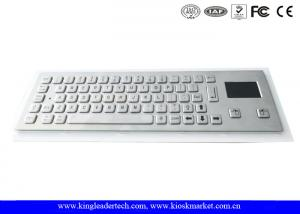 Quality Dust-proof And Liquid-Proof Panel Mount Industrial Kiosk Touchpad Keyboard for sale